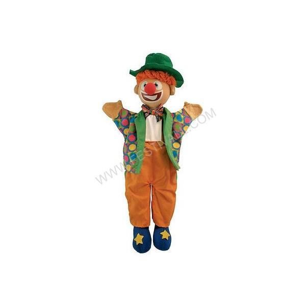 Marionetta clown con cilindro
