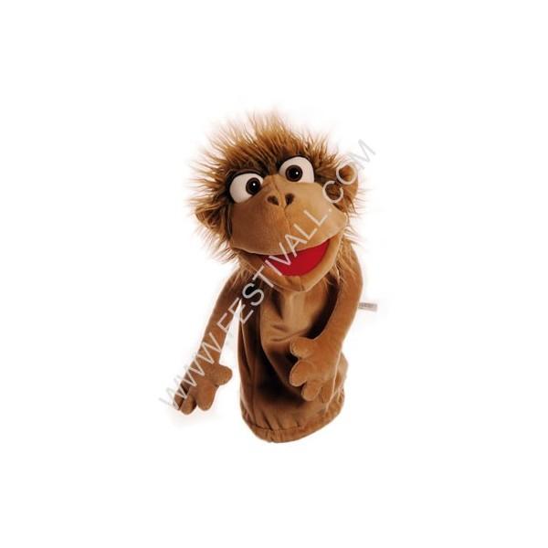 Pupazzo da mano Pinkus la scimmietta