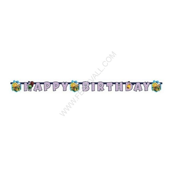 Banner Happy Birthday ape Maya 180 cm