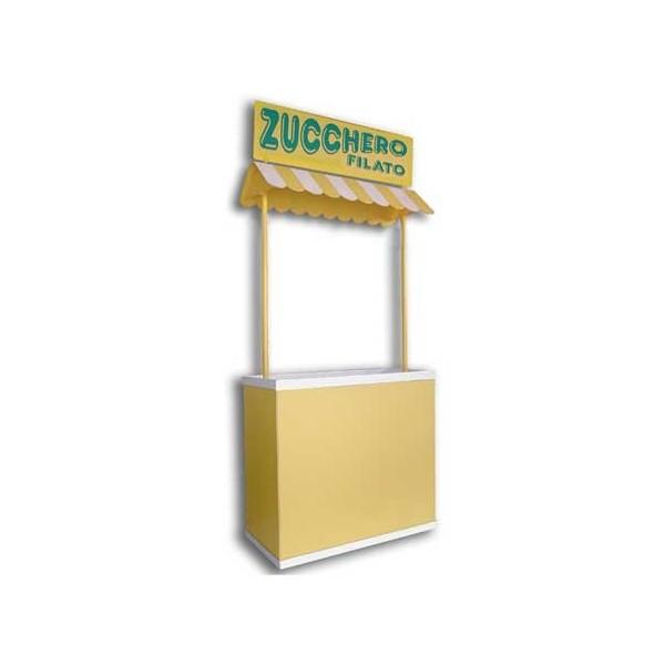 banco espositore per popcorn - zucchero filato