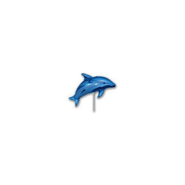 Minishape 30 cm delfino azzurro