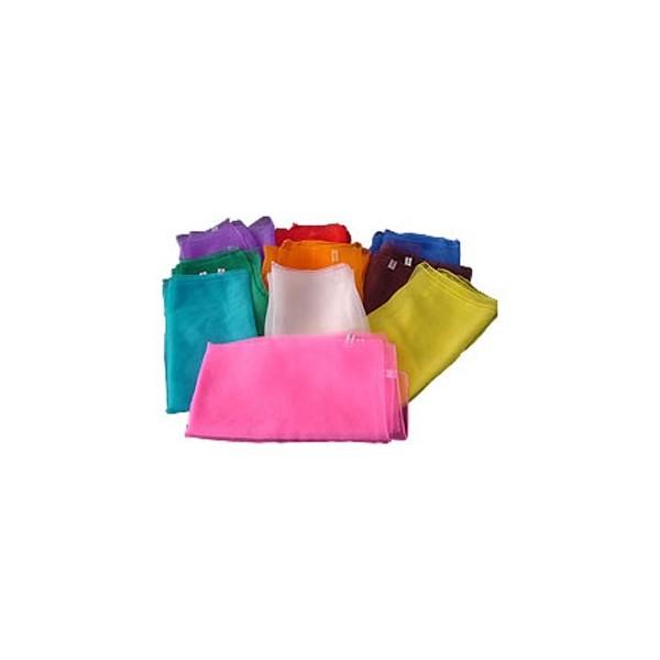 fazzoletto giocoleria color 70x70cm