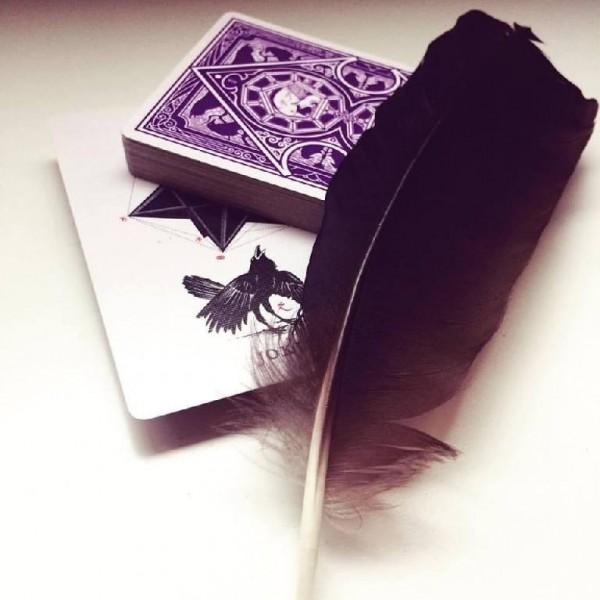 Offerta della settimana - Ravn Purple Haze playing cards