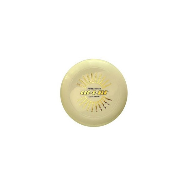 FRISBEE DYN-O-GLO 130 gr FOSFORESCENTE