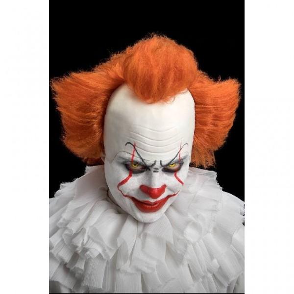 Parrucca clown cattivo con calotta