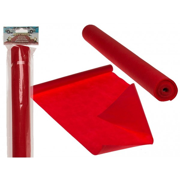 Tappeto rosso 60 cm x 4,6 mt