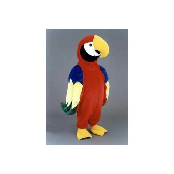 Mascotte deluxe pappagallo