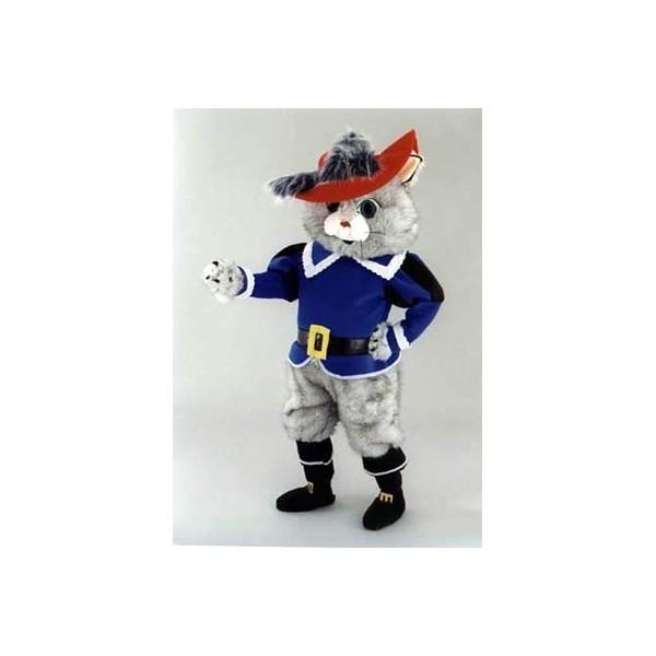 Mascotte deluxe gatto con gli stivali