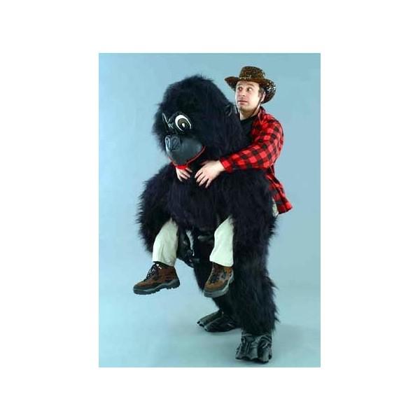 mascotte illusion gorilla
