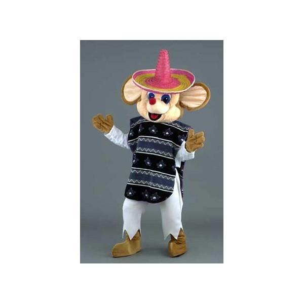 mascotte de luxe opo il topo messicano