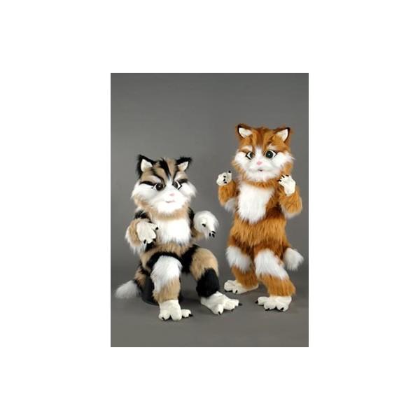Mascotte deluxe gattino