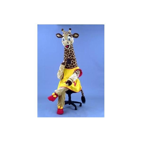 Mascotte deluxe raffa la giraffa