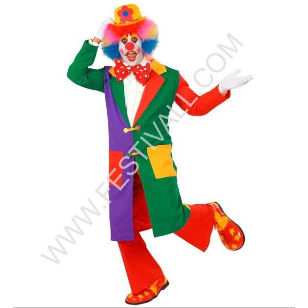 cappotto clown a quadri