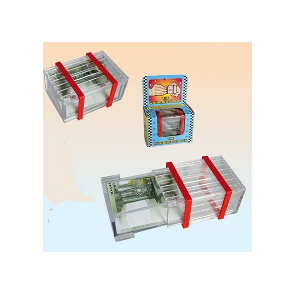 The Wonder box in plastica