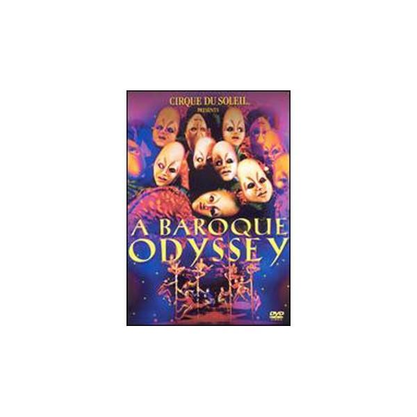 dvd  Cirque Du Soleil  - A Baroque Odyssey