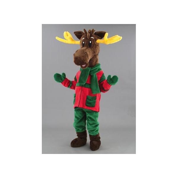 Mascotte deluxe    renna natalizia