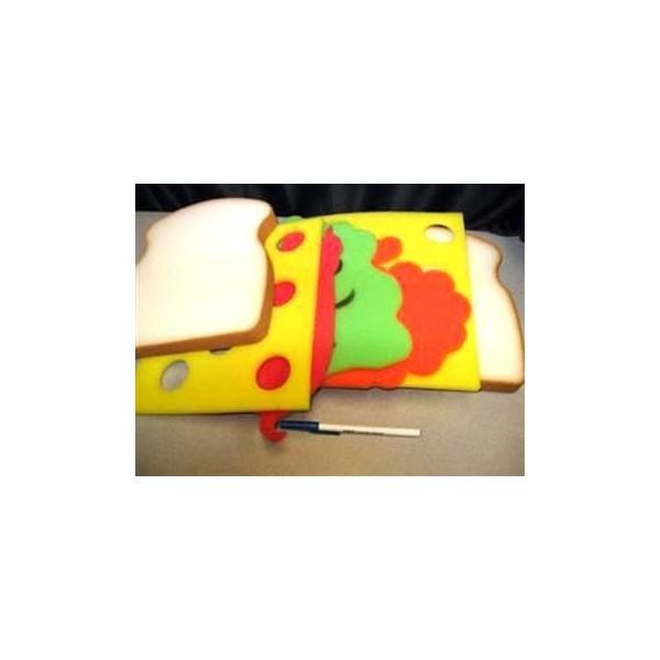 Sandwich gigante in spugna