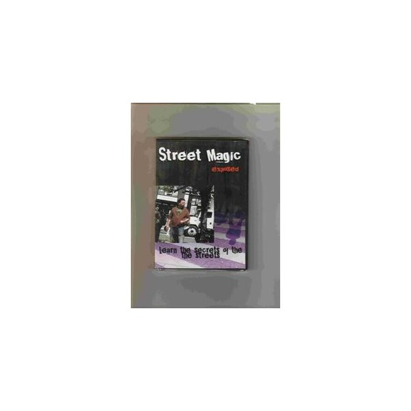 dvd  - secrets - Street Magic