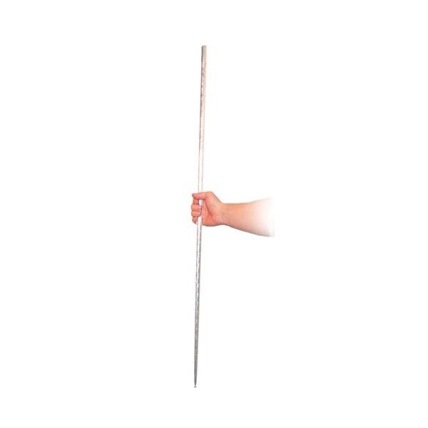 bastone a sparizione acciaio silver