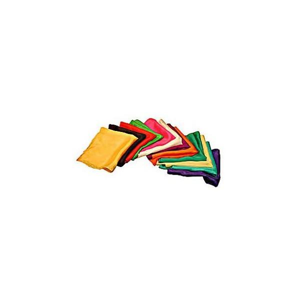 Foulard di seta 20 x 20 vari colori