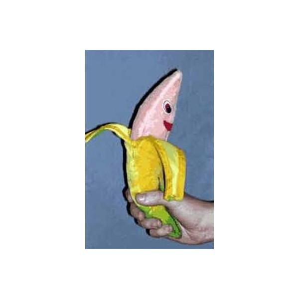 zipper banana Gigante in spugna