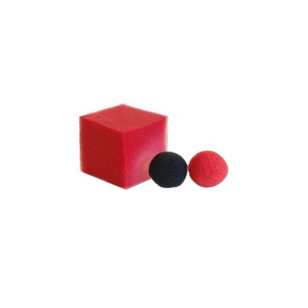 Pallina cambiacolore a cubo