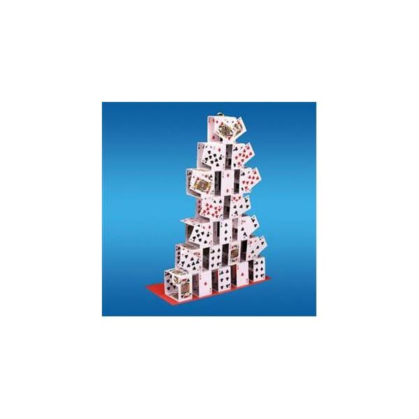 Castello di carte che appare