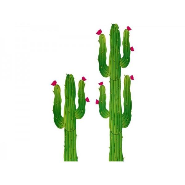 Set da 2 cactus 180 120 cm