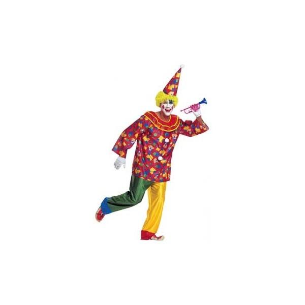 costume clown funny Tg XL