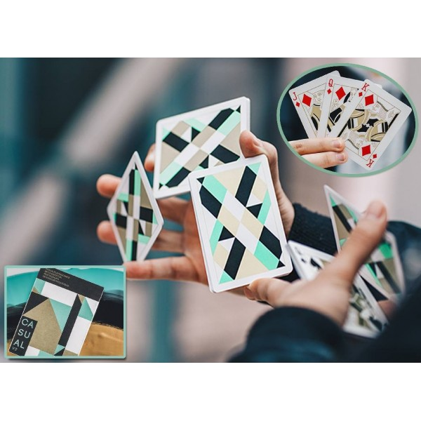 Casual V2 Playing Cards di Paul Robaia