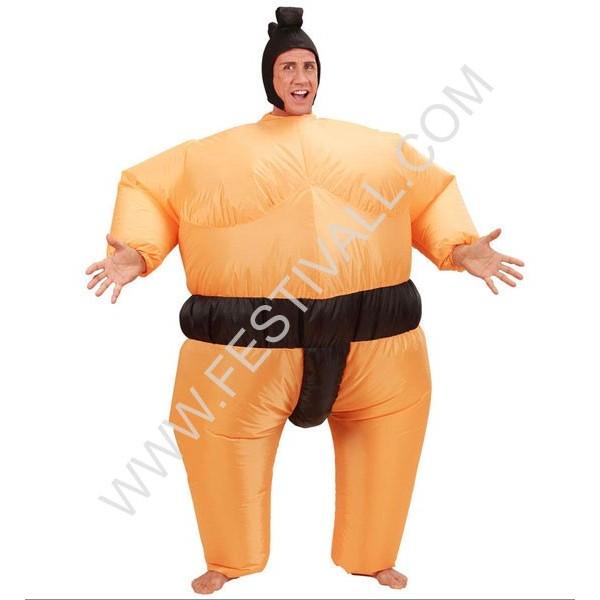 costume gonfiabile lottatore di sumo