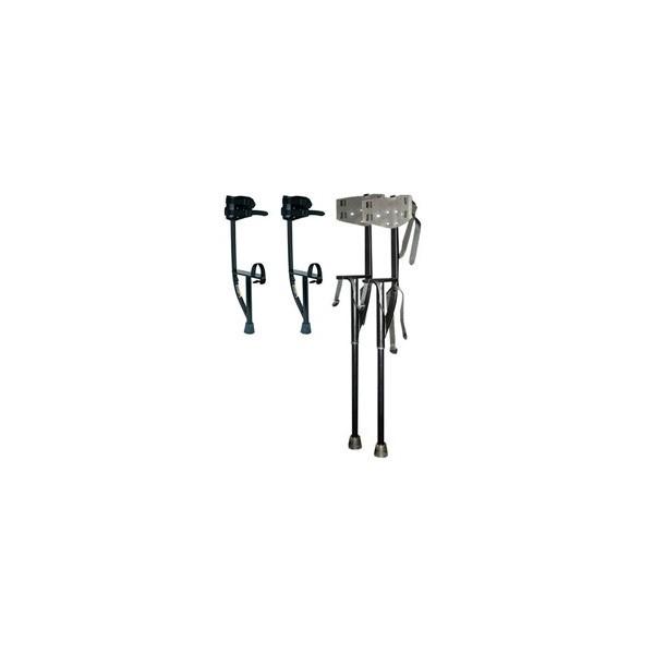 Trampoli alluminio allungabili 40 - 95cm