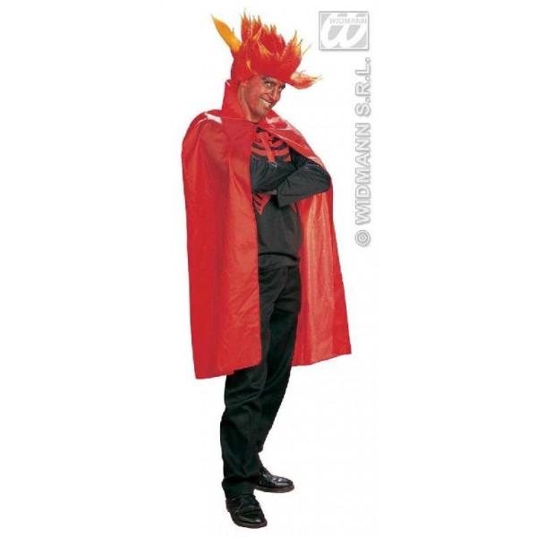 Mantello rosso 115 cm