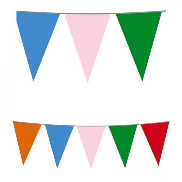 Festone bandiera multicolor 10mt.