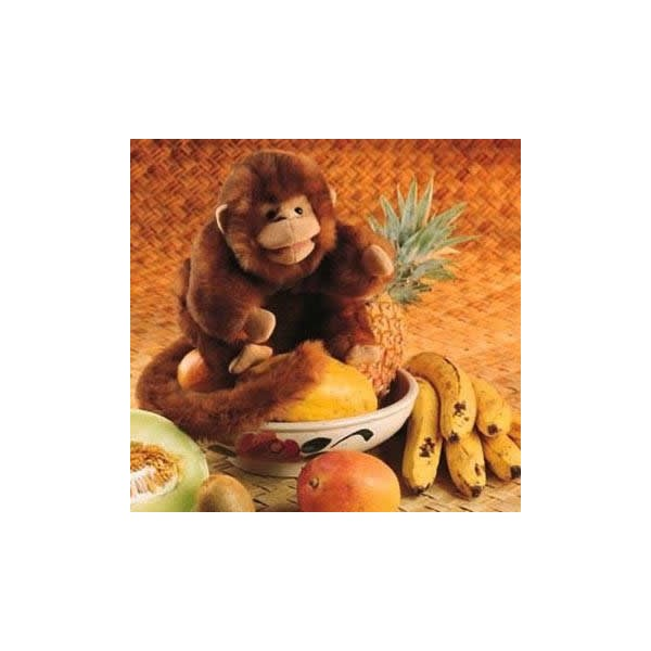 Pupazzo da mano scimmietta