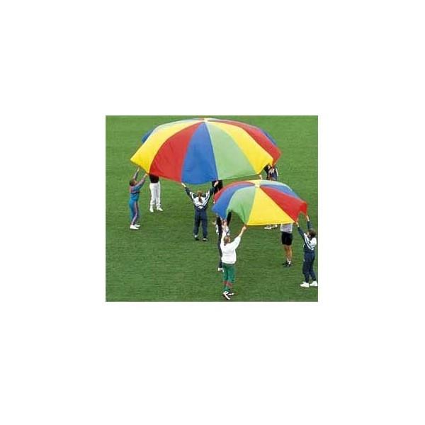 Telone paracadute arcobaleno 600cm dlx
