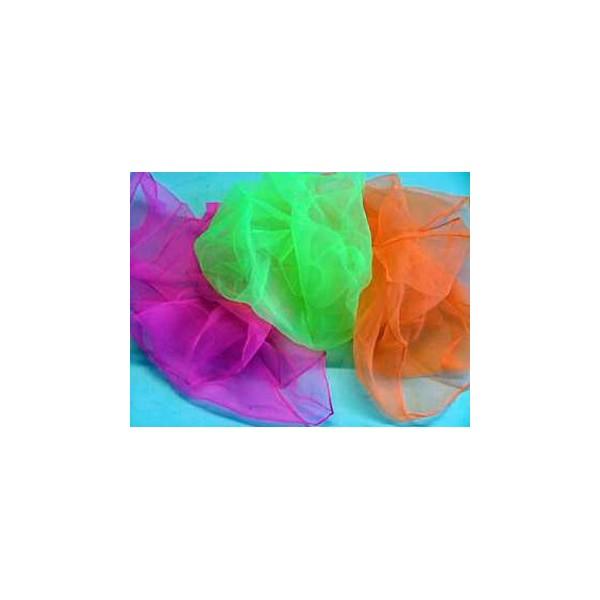 fazzoletti da giocoleria fluo 70x70