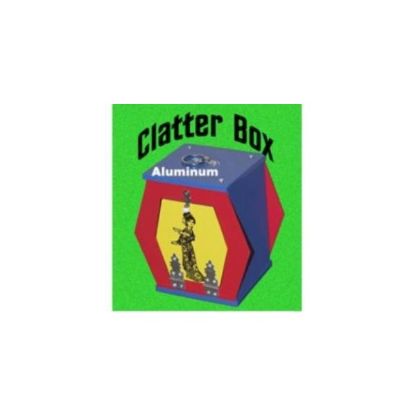 Clatter box in metallo