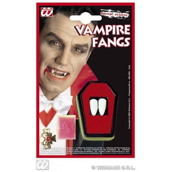 kit 2 denti vampiro professionali