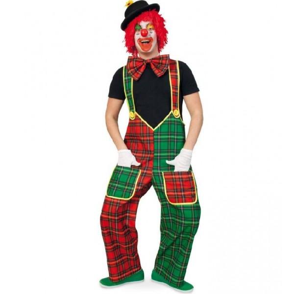 Salopetta clown mc check
