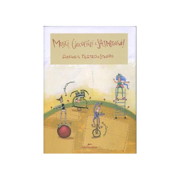 libro musici , giocolieri e saltimanchi