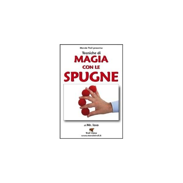 dvd Tecniche di Magia con le Spugne