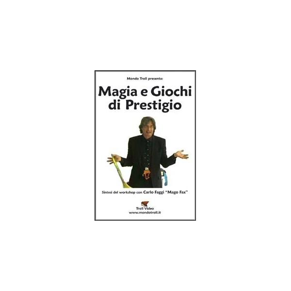 dvd Magia e Giochi di Prestigio