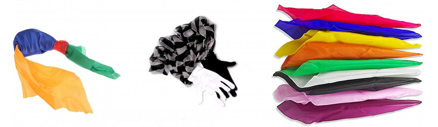 Giochi con foulard | festivalmagiagiocoleria.it | Prestigiatori