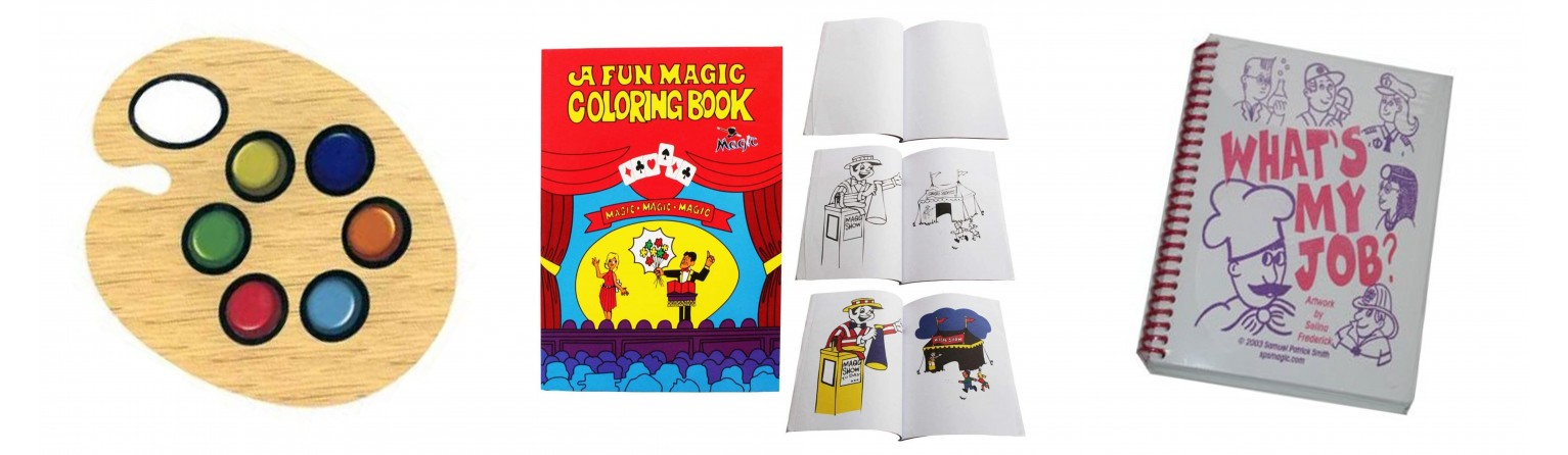 libri magici - accessori
