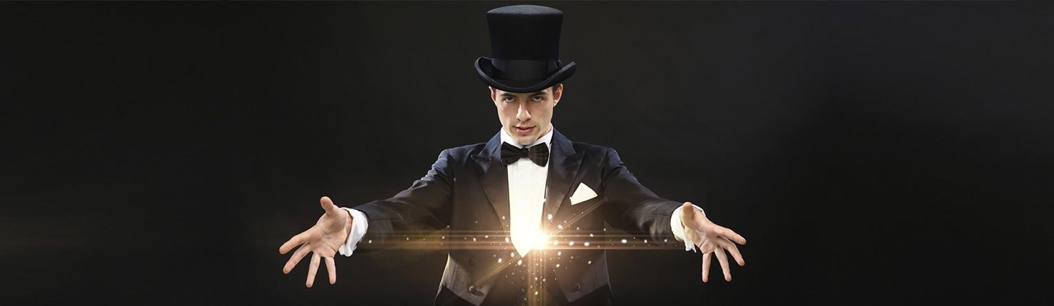 tantissimi giochi di magia per grandi e piccini,