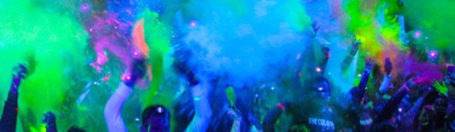 festa fluo - holi